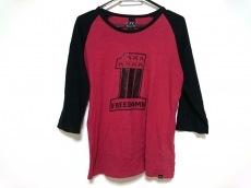 roar(ロアー) 七分袖Tシャツ メンズ レッド×黒 二丁拳銃