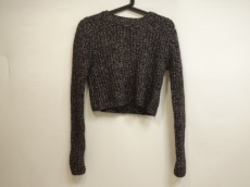 Acne(アクネ) 長袖セーター サイズXS レディース美品  黒×白