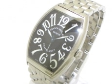 フランクミュラー 腕時計 カサブランカ 6850/6850CASA0 メンズ SS 黒