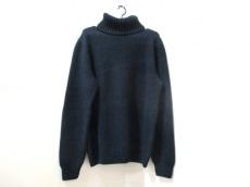 エルメス 長袖セーター サイズXL メンズ美品  ダークネイビー