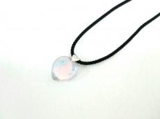 バカラ ネックレス クリスタルガラス×シルバー×化学繊維