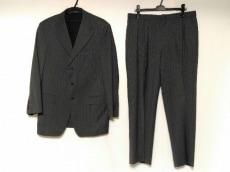 VERSACE(ヴェルサーチ) シングルスーツ メンズ グレー×ライトブルー