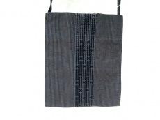 エルメス ショルダーバッグ エールラインポシェット 黒×グレー