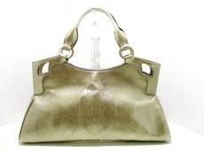 Cartier(カルティエ) ハンドバッグ マルチェロ ゴールド レザー