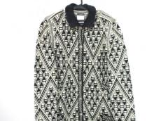 CHANEL(シャネル) コート サイズ40 M レディース美品  白×黒
