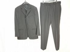 VERSACE(ヴェルサーチ) シングルスーツ メンズ新品同様  黒