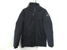カナダグース ダウンジャケット サイズS/P S メンズ ジャスパー 黒