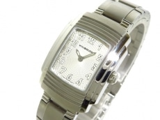 モーブッサン 腕時計 フーガ 65670 ボーイズ SS シルバー