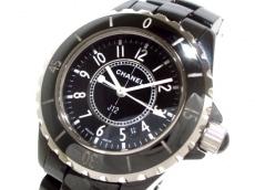シャネル 腕時計美品  J12 H0682 レディース セラミック/33mm 黒