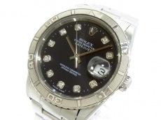 ロレックス 腕時計 デイトジャストサンダーバード 16264G メンズ 黒