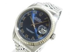 ROLEX(ロレックス) 腕時計 デイトジャスト 16234 ボーイズ ネイビー