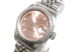 ロレックス 腕時計 オイスターパーペチュアルデイト 79240 ピンク