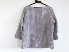 ORCIVAL(オーシバル) 長袖Tシャツ レディース アイボリー×ネイビー