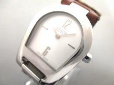 コーチ 腕時計 ミニシグネチャー柄 0208 レディース アイボリー