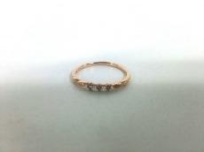 ete(エテ) リング K10PG×ダイヤモンド 0.04カラット