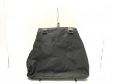 PRADA(プラダ) トートバッグ - 黒×クリア プラスチックハンドル