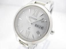 シチズン 腕時計美品  XC E001-T020330 レディース エコドライブ