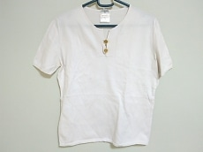 CHANEL(シャネル) 半袖セーター サイズ44 L レディース ベージュ