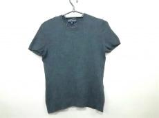 ラルフローレン 半袖セーター サイズM レディース美品  ダークグレー