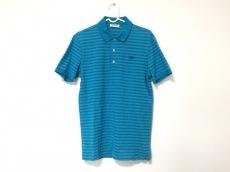 Lacoste(ラコステ) 半袖ポロシャツ メンズ ライトブルー ボーダー
