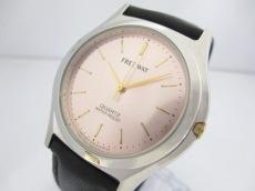 シチズン 腕時計美品  FREE WAY 1032-A42951 レディース 革ベルト