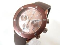 フォリフォリ 腕時計美品  WT6T042SEB レディース ブロンズ