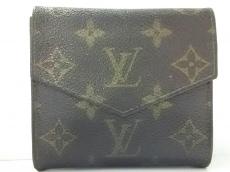 ルイヴィトン Wホック財布 モノグラム ポルトモネビエ 190