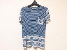 PRADA(プラダ) 半袖Tシャツ サイズM レディース美品  ボーダー