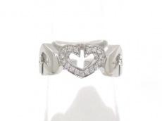Cartier(カルティエ) リング 55美品  ハート&シンボル/Cハートダイヤ