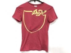 ディーゼル 半袖Tシャツ サイズS レディース美品  ピンク×イエロー