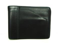 HERMES(エルメス) 2つ折り財布 MC3ガリレイ 黒 エヴァーグレイン