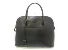 エルメス ハンドバッグ ボリード35 黒 ゴールド金具 ボックスカーフ