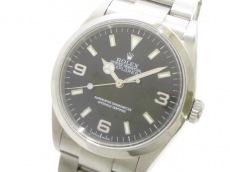 ROLEX(ロレックス) 腕時計美品  エクスプローラー1 114270 メンズ 黒