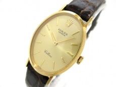 ロレックス 腕時計 チェリーニ 4110 レディース シャンパンゴールド