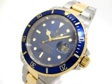 ROLEX(ロレックス) 腕時計 サブマリーナデイト 16613 メンズ ブルー