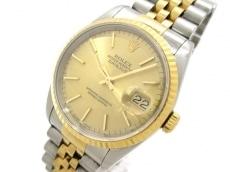 ロレックス 腕時計 デイトジャスト 16233 メンズ シャンパンゴールド
