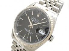 ROLEX(ロレックス) 腕時計 デイトジャスト 16234 ユニセックス 黒