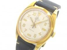 ROLEX(ロレックス) 腕時計 オイスター 6426 メンズ アイボリー