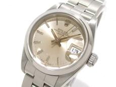 ロレックス 腕時計 オイスターパーペチュアルデイト 69160 シルバー