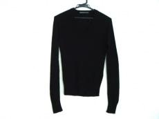 バレンシアガ 長袖セーター サイズ38 M レディース 黒 シルク