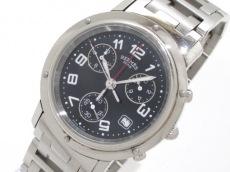 HERMES(エルメス) 腕時計 クリッパークロノ CL1.910 メンズ 黒