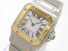 Cartier(カルティエ) 腕時計 サントスガルベSM W20012C4 レディース