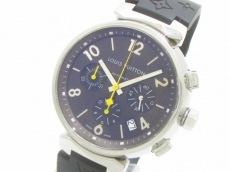 ヴィトン 腕時計 タンブールクロノグラフ Q1121 メンズ