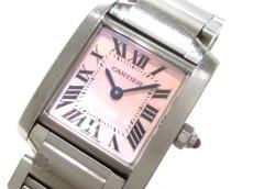 カルティエ 腕時計 タンクフランセーズSM W51028Q3 レディース