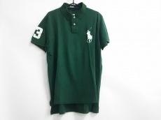 ポロラルフローレン 半袖ポロシャツ サイズLL メンズ美品  グリーン