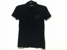 ドルチェアンドガッバーナ 半袖ポロシャツ サイズ40 M レディース 黒