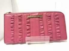 LAISSE PASSE(レッセパッセ) 札入れ ピンク 合皮