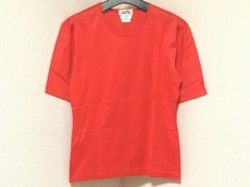 HERMES(エルメス) 半袖Tシャツ サイズM レディース美品  レッド