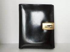 GUCCI(グッチ) 2つ折り財布 - - 黒 レザー