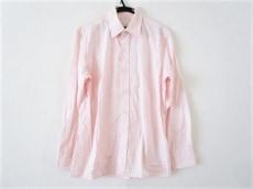 PRADA(プラダ) 長袖シャツ サイズ38/15 メンズ ピンク